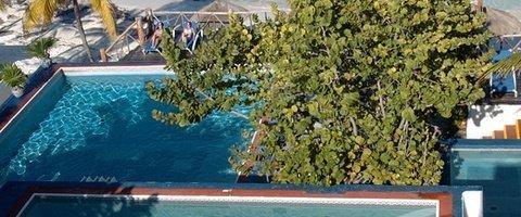 Solarium terrace Maya Caribe Beach House Hotel